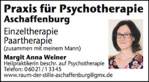 Praxis für Psychotherapie Aschaffenburg - Margit Weiner