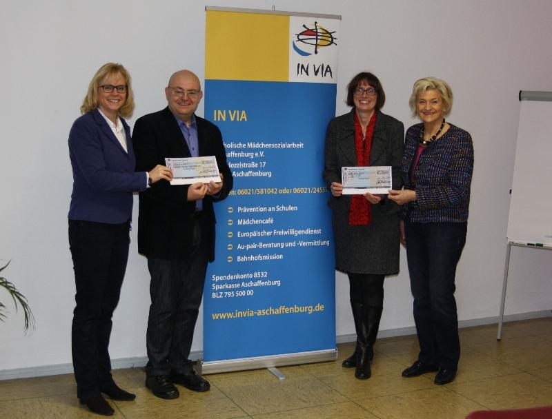 Spendenübergabe der Frauen Union