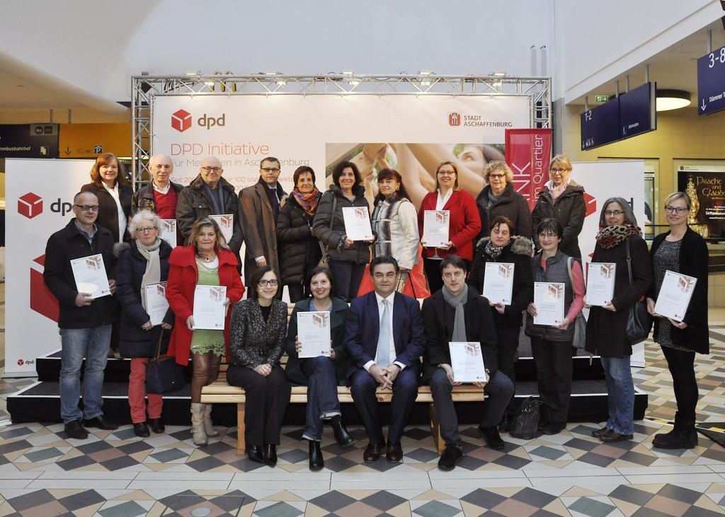DPD Bildmotiv Menschen in Aschaffenburg 2016