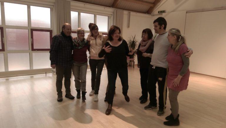 Theaterworkshop mit Katja Hufgard