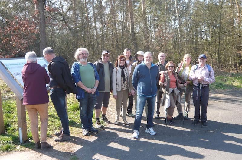 Wanderung im Naturschutzgebiet und auf den Stengerts