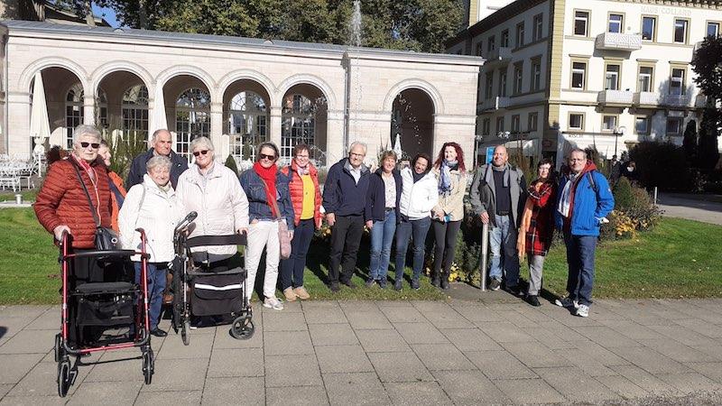 Ausflug Bad Kissingen Gruppenfoto